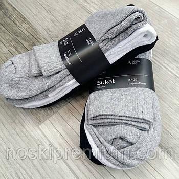 Шкарпетки жіночі х/б махрова стопа House, Фінляндія-Туреччина, розмір 37-39, асорті, 01235