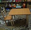 Столик и 2 стульчика, бук. Разная комплектация и цвета