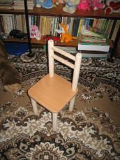 Один стул и стол, цвета разные: бук, лайм, голуб, лаванда, фото 3