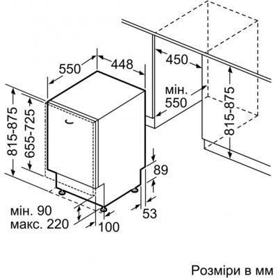 Посудомоечная машина BOSCH SPV45IX00E 6