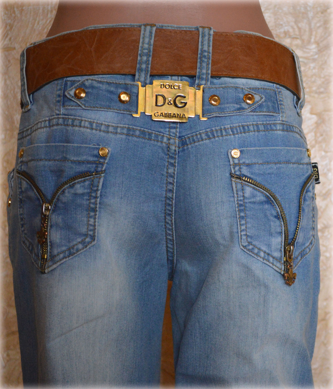 Женские джинсы D&G96 (копия)