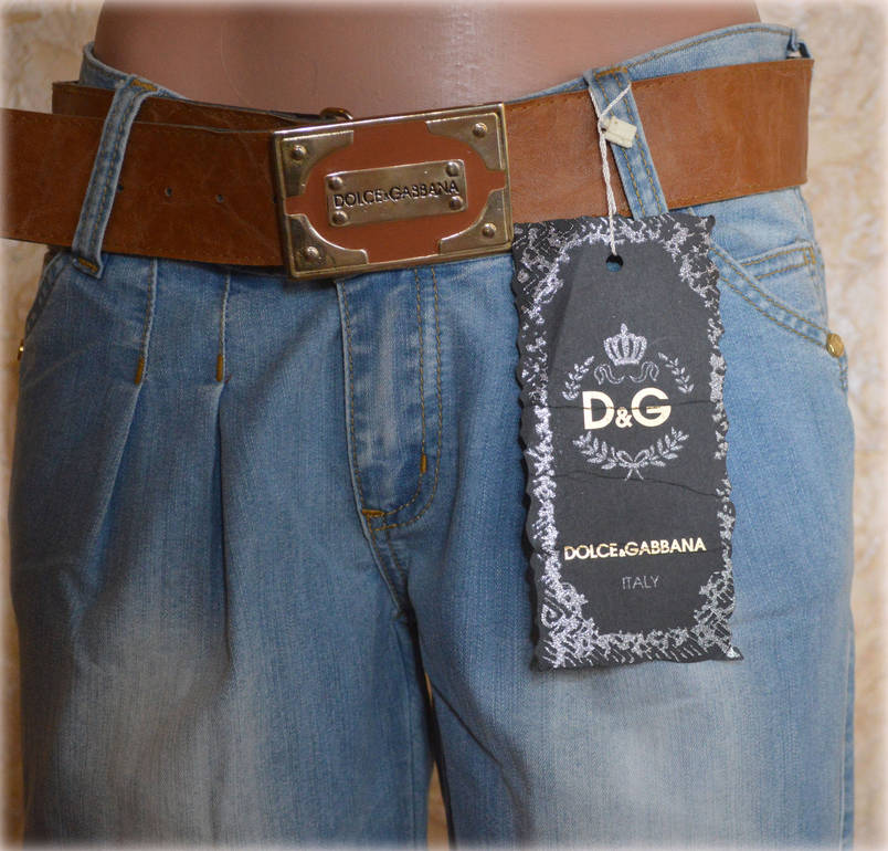 Женские джинсы D&G96 (копия), фото 2