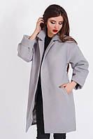 Классическое кашемировое пальто на пуговицах