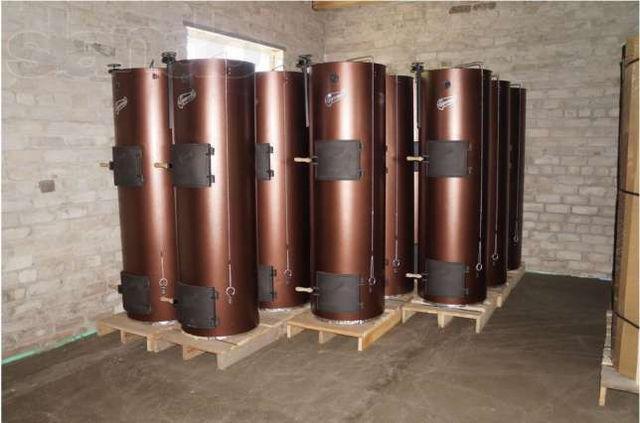 Твердотопливные котлы длительного горения  Liepsnele L40-U (Универсал) (Липснеле), котел длительного горения