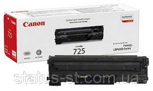 Заправка картриджа Canon 725 для принтера LBP6000, LBP6020, LBP6030, MF3010