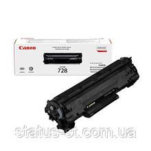 Заправка картриджа Canon 728 для принтера MF4410, MF4430, MF4450, MF4550D, MF4570DN, MF4580DN