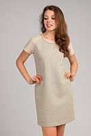 Милое платье из трикотажа  , фото 1