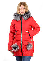 Женская зимная куртка IRVIC N15172 46 Красный (IrC-N15172-46)