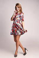 Очаровательное и жизнерадостное платьице в ярких и насыщенных расцветках