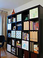 Книжный шкаф с открытыми полочками