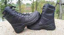 Черные кожанные демисезонные тактические ботинки берцы 5.11 (оригинал азиатская версия), фото 3