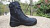 Черные кожанные демисезонные тактические ботинки берцы 5.11 (оригинал азиатская версия), фото 4