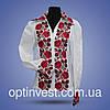 """Вышиванки блуза """"Розы"""" с отложным воротником, фото 2"""