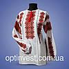 """Блуза  вышиванки """"Дарья"""" домотканное полотно, фото 2"""