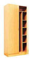 Шкаф для одежды и книг закрытый С-07 (80477)