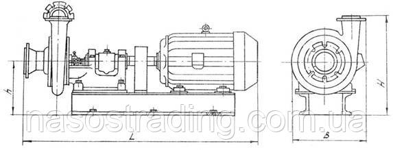Насосы шламовые типа 3ГМ-2М, 8Ш8, 8С8