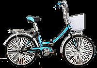 """Велосипед складной Titan Десна 24"""" (Black-Blue)"""