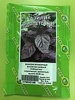 Насіння Базиліка Мармуровий фіолетово-зелений Агролиния