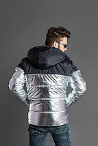 """Мужская демисезонная куртка на синтепоне """"TNF"""" с капюшоном, фото 2"""