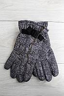 Перчатки мужские серые 0366