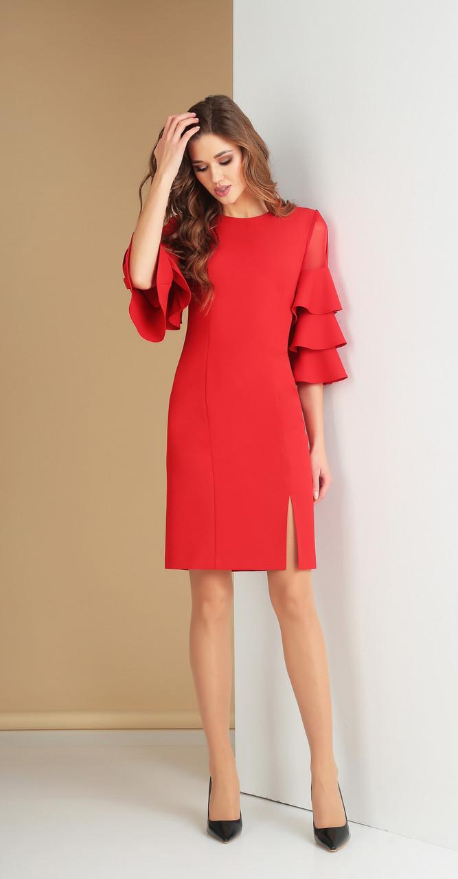 955bc528642 Платье Ксения стиль-1615 белорусский трикотаж