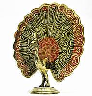 Статуэтка из бронзы Павлин