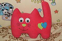 """Мягкая игрушка-подушка """"Кот розовый"""""""