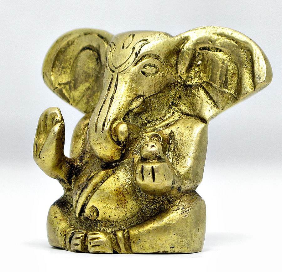 Статуэтка из бронзы Ганеша