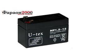 Аккумулятор U-tex 12В / 1,2 Ah