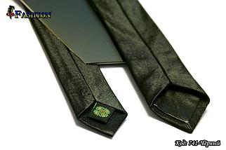 Узкий вышитый галстук Цветы, фото 2
