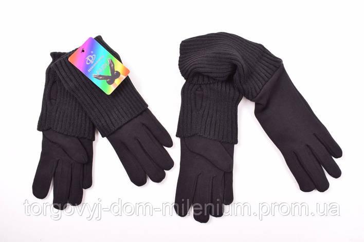 Перчатки трикотажные+митенки вязаные женские PAIDI 113, фото 2