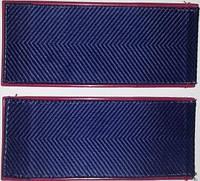 Погоны МВД темно-синие (куртка), рядовой состав