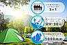 Туристическая палатка IGLO 4-OS 210х180 см, фото 4