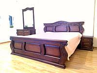 Резная кровать, Деревянная кровать, Спальный гарнитур, Спальня, Мебель, Декор интерьера, Винница