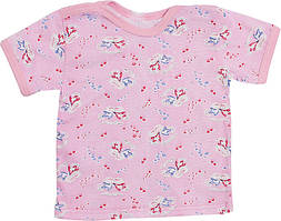 Футболка ValeriTex 000899021027 92 см Розовый, КОД: 261909