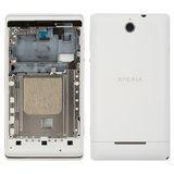 Корпус для смартфону Sony Xperia E Dual C1604, C1605 білий