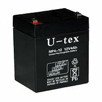 Аккумулятор U-tex 12В / 4,5 Ah