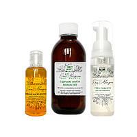 Комплексное очищение: Набор для ухода за комбинированной кожей лица