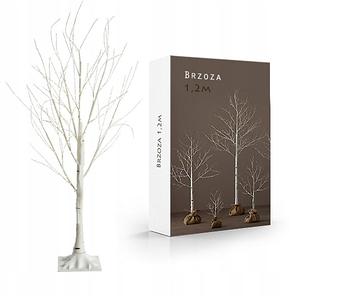 "Новогоднее декоративное дерево-гирлянда ""Береза"" 180 см 96 Led IP 44, фото 2"