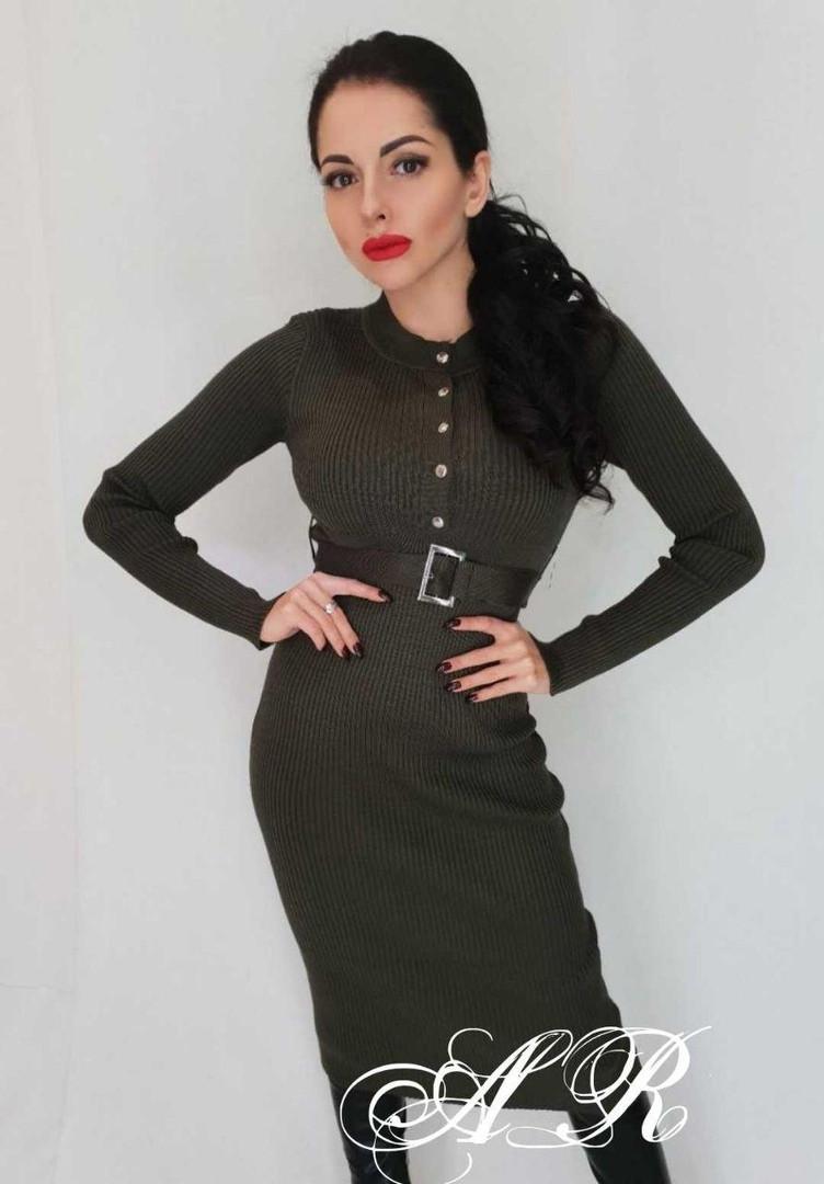 473a96348 Платье рубчик (Фабричный Китай) -
