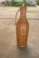 Плетеная бутылка из лозы 0,5л
