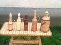 Плетеная бутылка 1л