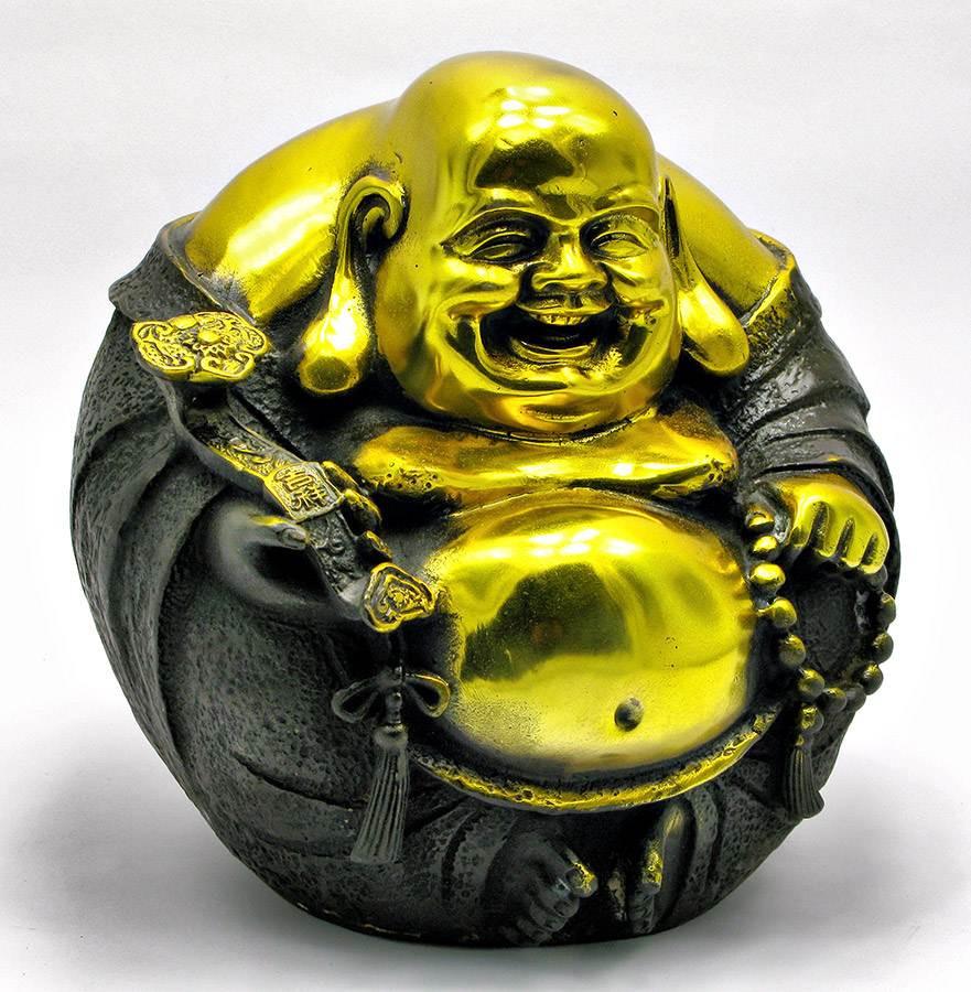 Статуетка з бронзи Будда-Хотей