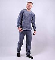 Махровая мужская пижама р. 48-56