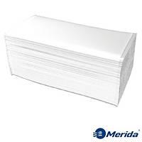 Полотенца бумажные Merida 3200 Comfort листовые сложения ZZ двухслойные, Польша