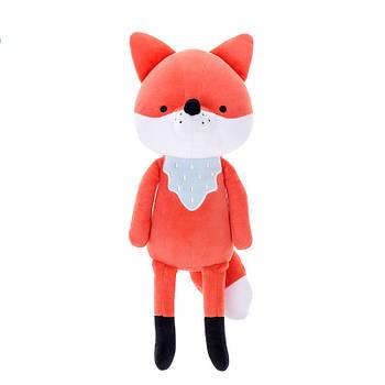 Мягкая игрушка Лиса 23 см Оранжевая Metoo (47998)