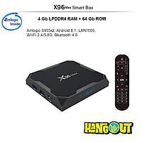X96 MAX TV Box Amlogic S905x2, 4Gb+64Gb