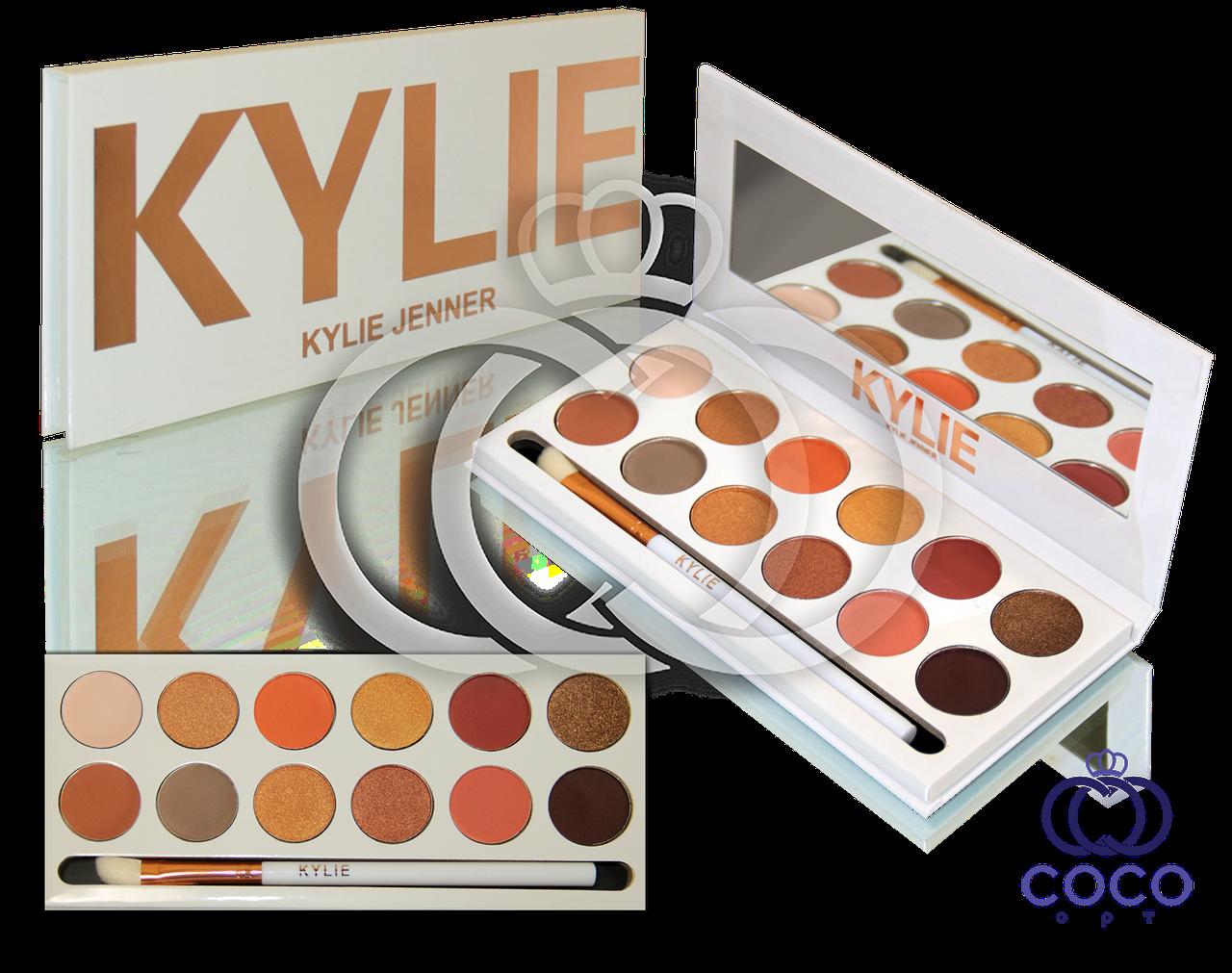 Палетка теней для век Kylie Jenner Bronze Extended