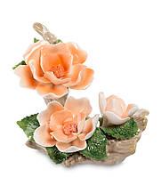 Композиция Pavone Чайная Роза 9 см Оранжевая, КОД: 177693