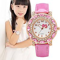 Мода Hello Kitty наручные часы девушка/ дети кварцевые